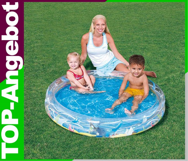 bestway schwimmbecken kinder baby planschbecken pool becken 122 cm ebay. Black Bedroom Furniture Sets. Home Design Ideas