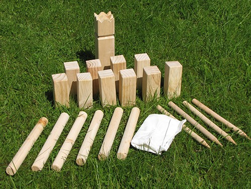 kubb holz spiel wikingerschach gartenspielzeug wikinger. Black Bedroom Furniture Sets. Home Design Ideas
