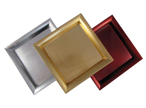 Dekoteller platzteller teller deko servierteller dekoration schale eckig ebay - Dekoteller gold ...